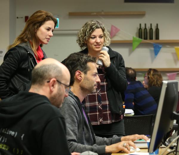 האקתון חווית משתמש בשיתוף עם wix